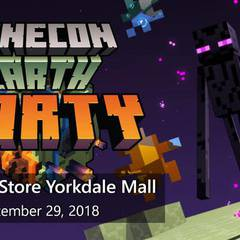 MINECON EARTH PARTY - Microsoft Store Yorkdale Mall