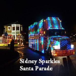 Sidney Sparkles Santa Parade