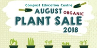 2018 August Organic Plant Sale