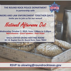 2019 National Afternoon Out