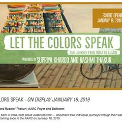 Let the Colors Speak: Exhibit Reception