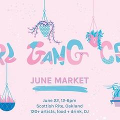 Girl Gang Craft June Market