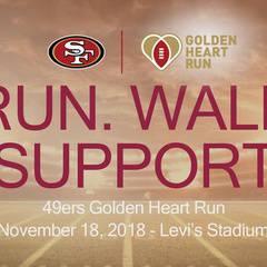 Golden Heart Run- VOLUNTEER 2018