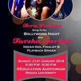 Bollywood night with Torsha Sarkar