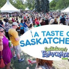 ISSAC and Peer Health Usask Go to A Taste of Saskatchewan