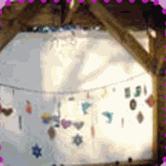 Sukkah Decorating