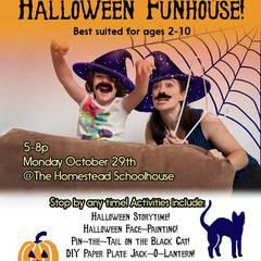 Halloween Funhouse for Kids!