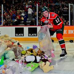 Mooseheads Teddy Bear Toss