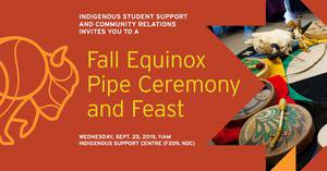 Fall Equinox Pipe Ceremony and Feast