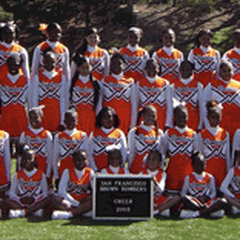 San Francisco Brown Bombers - Youth Football and Cheer