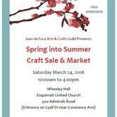 Spring into Summer Craft Sale & Market