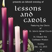 Lessons & Carols at St John's United Church