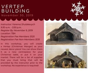 Vertep Building Workshop