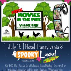 Movies in the Park | Hotel Transylvania 3