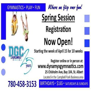 Dynamyx Gymnastics Club's promotion image