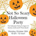 Not So Scary Halloween Party