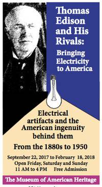 Thomas Edison and His Rivals: Bringing Electricity to America