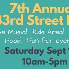 7th Annual 33rd Street Fair!
