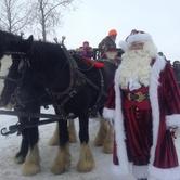 Santa at the Marsh