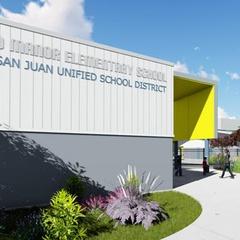 Del Paso Manor Elementary School Groundbreaking