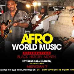 Music from Haiti with Balans!