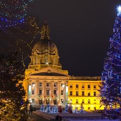 Light-Up and Celebrate the Season at the Alberta Legislature