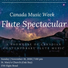 Canada Music Week: Flute Spectacular