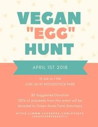 """Vegan """"Egg"""" Hunt in SE PDX"""