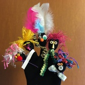 Puppet Pop-Up Studio: Family Finger Puppets