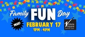 Family Fun Day! Feb 17th 1pm-4pm