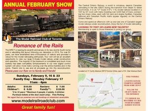 Model Railroad Club of Toronto February Show