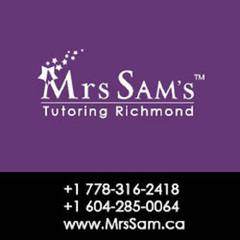 Tutoring Richmond – Mrs Sam