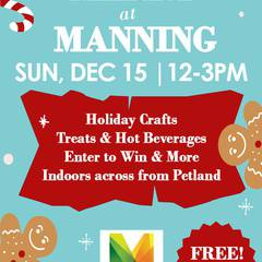 Free Family Event: Annual Merry at Manning