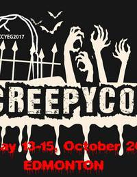 Edmonton Creepy Con, A Horror Con fused with Sci fi and Supernatural