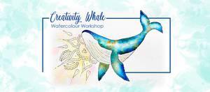 Creativity Whale – Watercolour Workshop