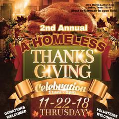 Annual Homeless Thanksgiving