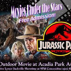 Acadia Movie Under The Stars: Jurassic Park