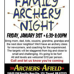 Family Archery Night