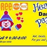 Gymboree Valentine Hearty Dance Party