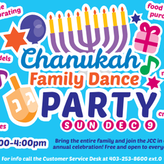 Chanukah Family Dance Party