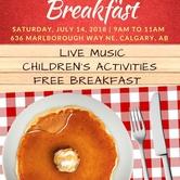 Free Stampede Breakfast