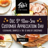 Customer Appreciation Event - Pete's Fine Foods