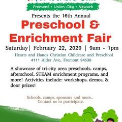 Preschool and Enrichment Fair