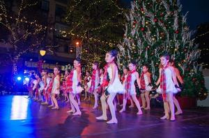 Santana Row Tree Lighting Ceremony