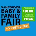 Vancouver Baby & Family Fair's promotion image