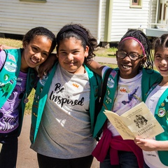 Girl Scout Badge Workshop Day