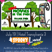 Movies in the Park | Hotel Transylvania 3