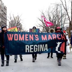 Women's March Regina 2020