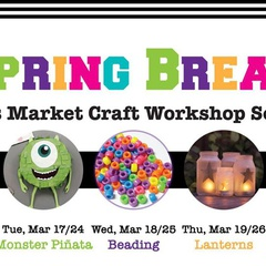 Kids Market craft workshop series