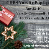 CHBS Varsity Pop Up Show